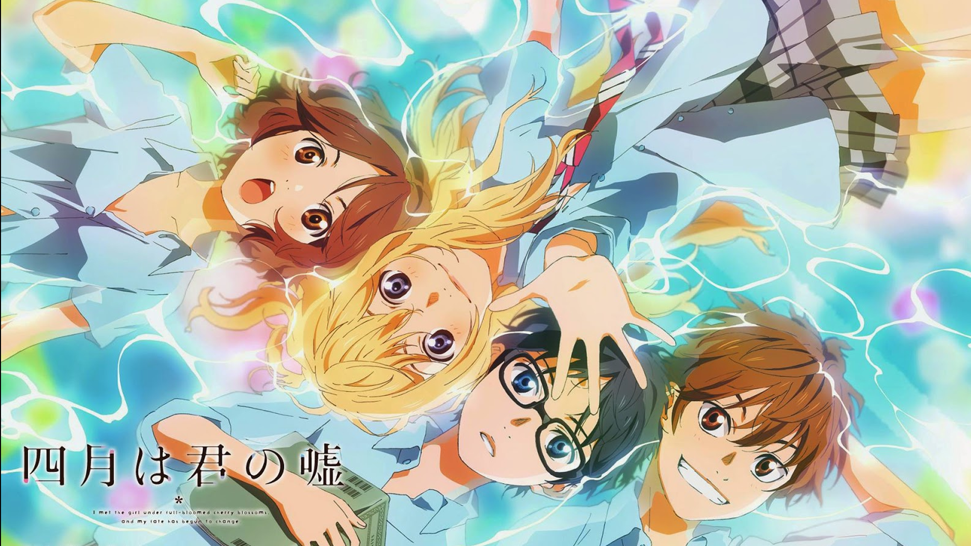Your Lie In April Backgrounds, Compatible - PC, Mobile, Gadgets| 1920x1080 px