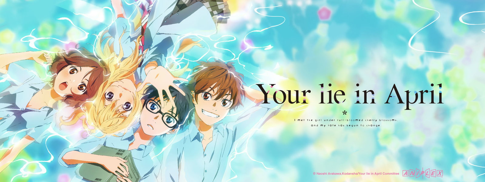 Your Lie In April Backgrounds, Compatible - PC, Mobile, Gadgets| 1600x600 px