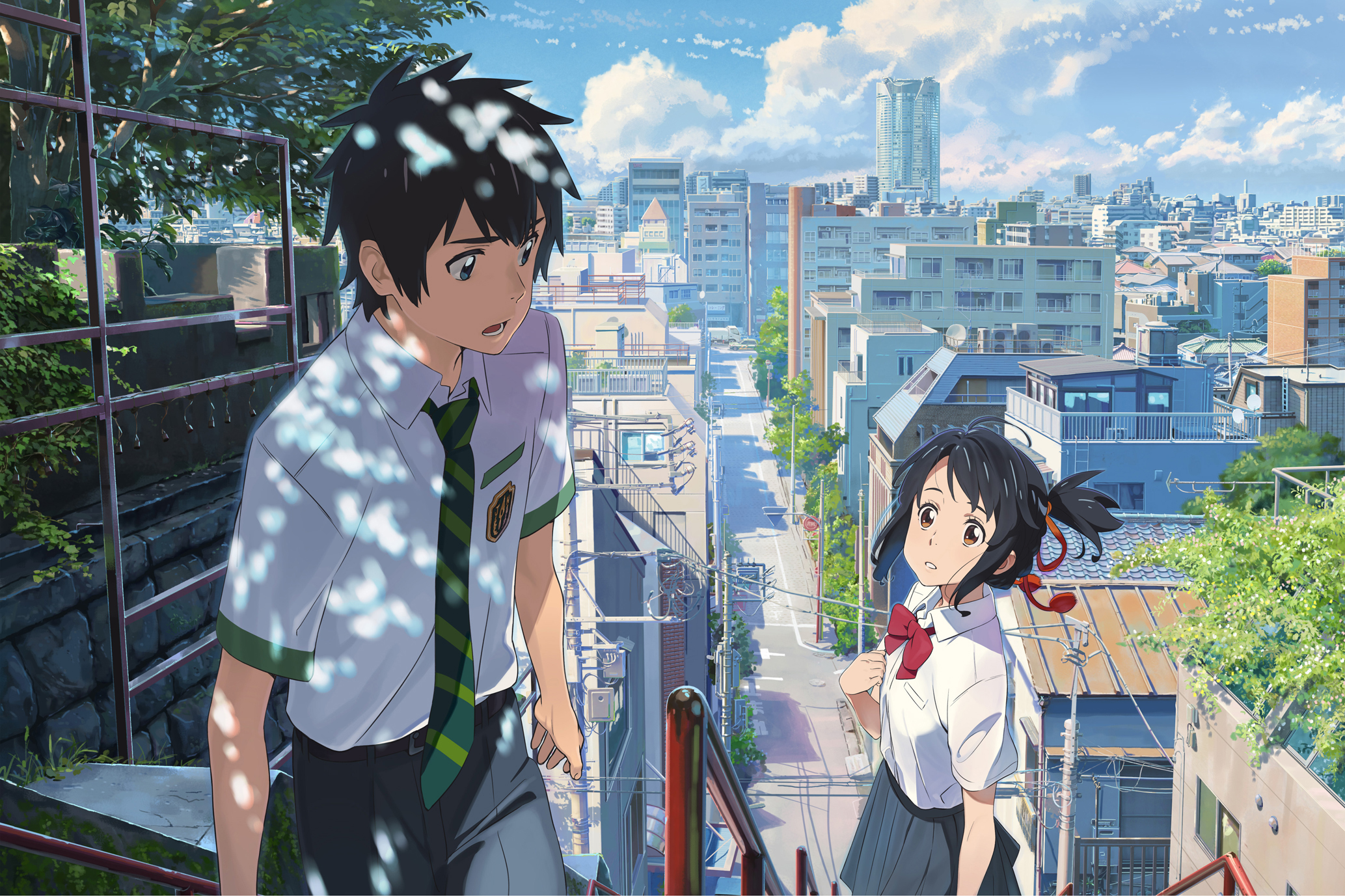 HD Quality Wallpaper | Collection: Anime, 2067x1377 Your Name.