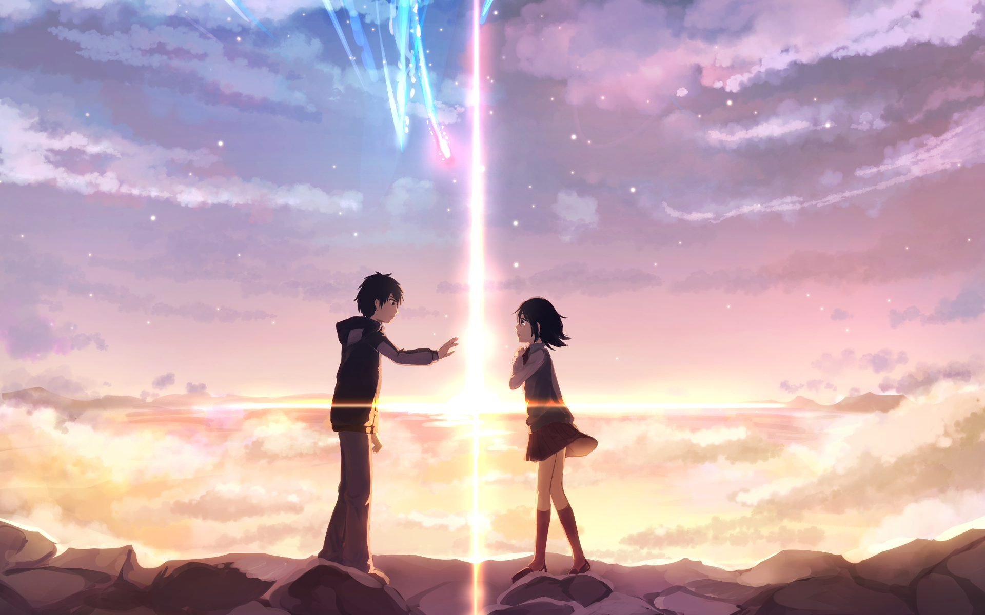 HD Quality Wallpaper | Collection: Anime, 1920x1200 Your Name.