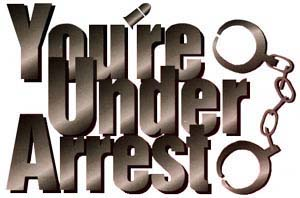 You're Under Arrest High Quality Background on Wallpapers Vista