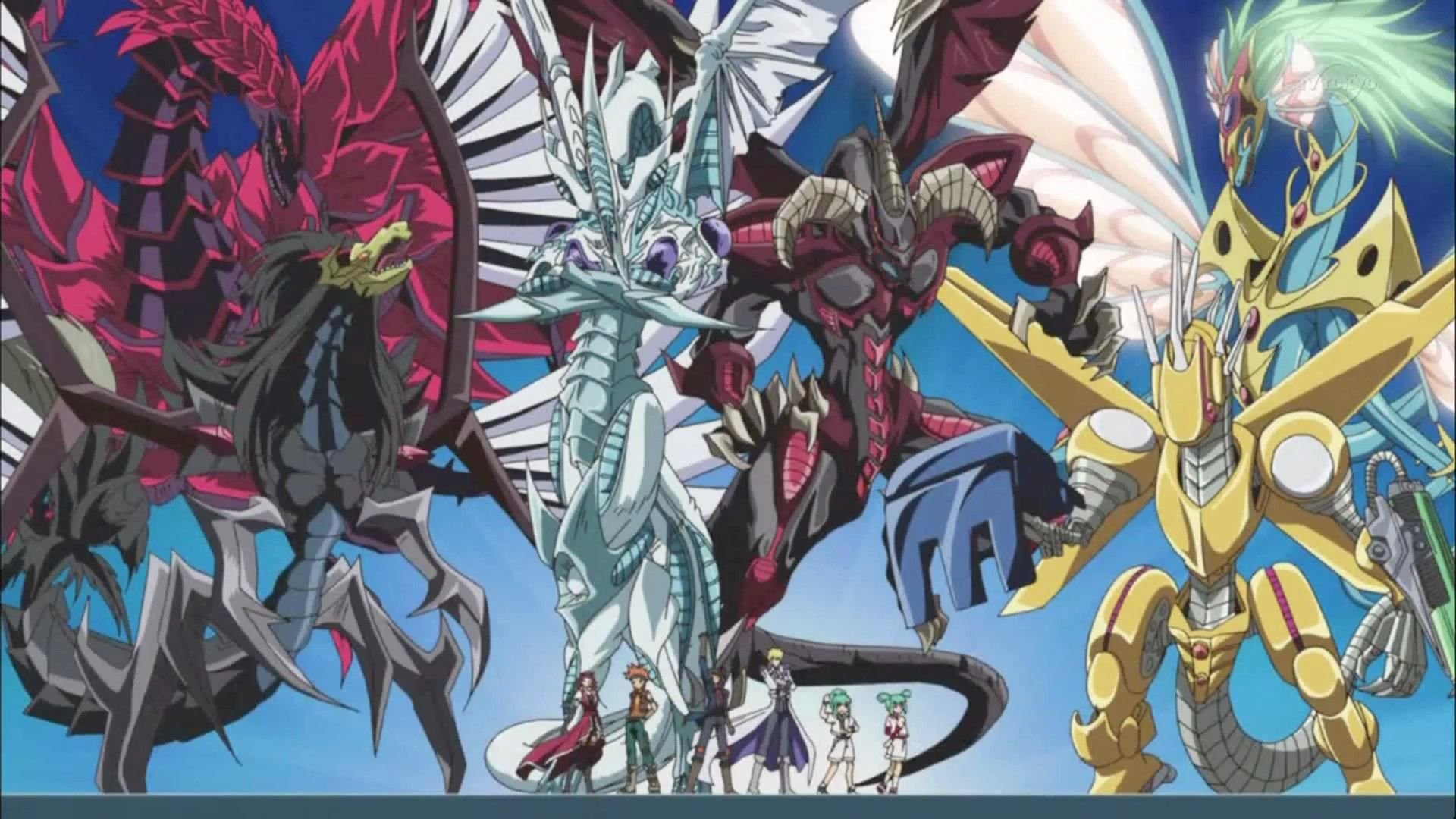 Nice Images Collection: Yu-Gi-Oh 5D's Desktop Wallpapers