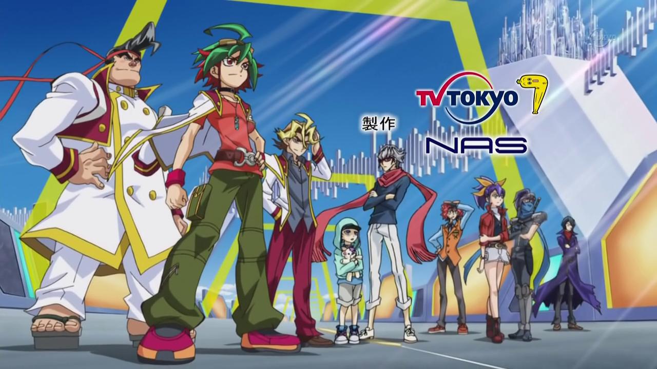 HD Quality Wallpaper | Collection: Anime, 1280x720 Yu-Gi-Oh! Arc-V