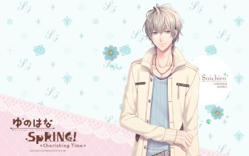 Yunohana Spring! Cherishing Time Backgrounds, Compatible - PC, Mobile, Gadgets| 350x219 px