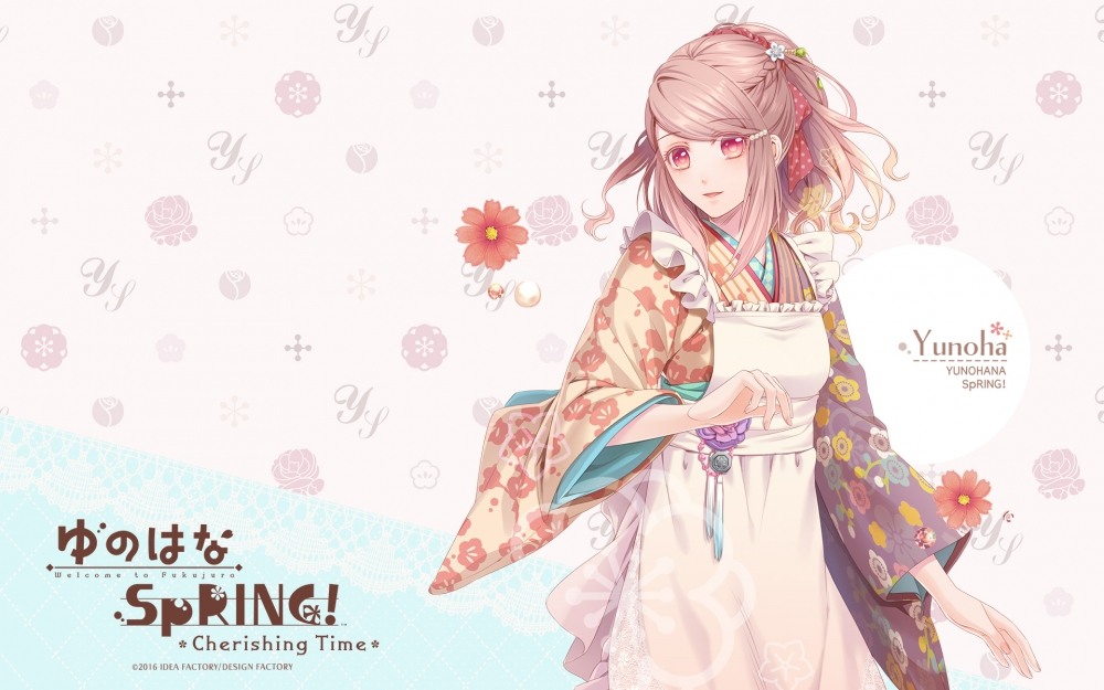 Yunohana Spring! Cherishing Time Backgrounds, Compatible - PC, Mobile, Gadgets| 1000x625 px