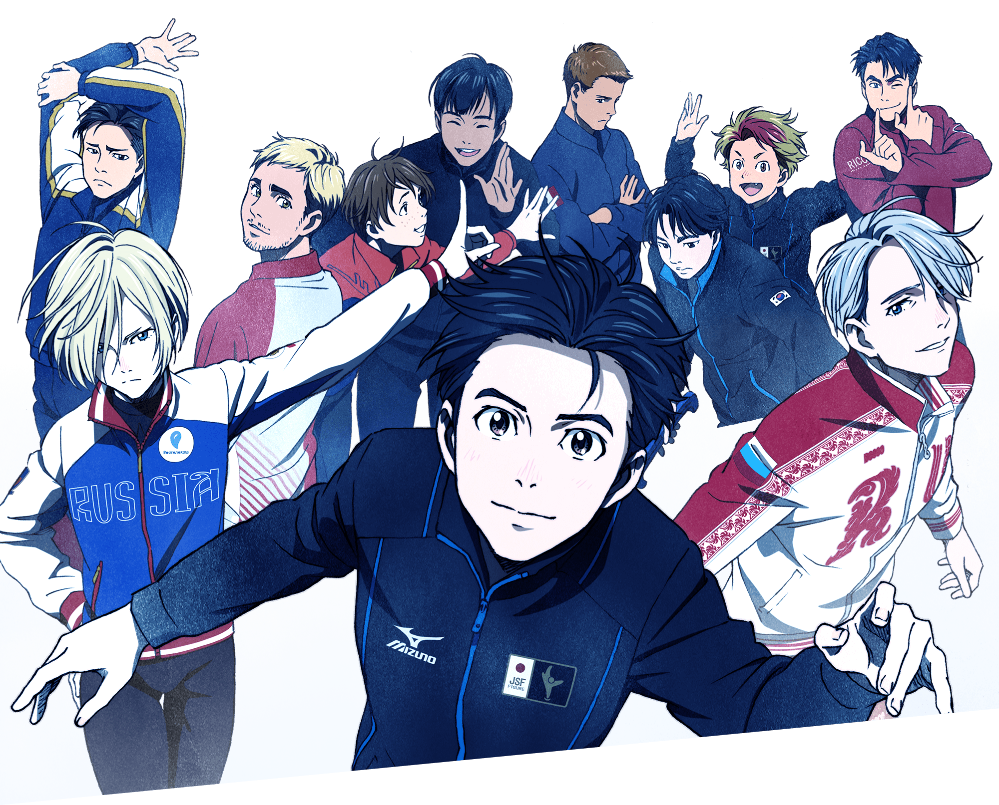 High Resolution Wallpaper | Yuri!!! On Ice 2000x1613 px
