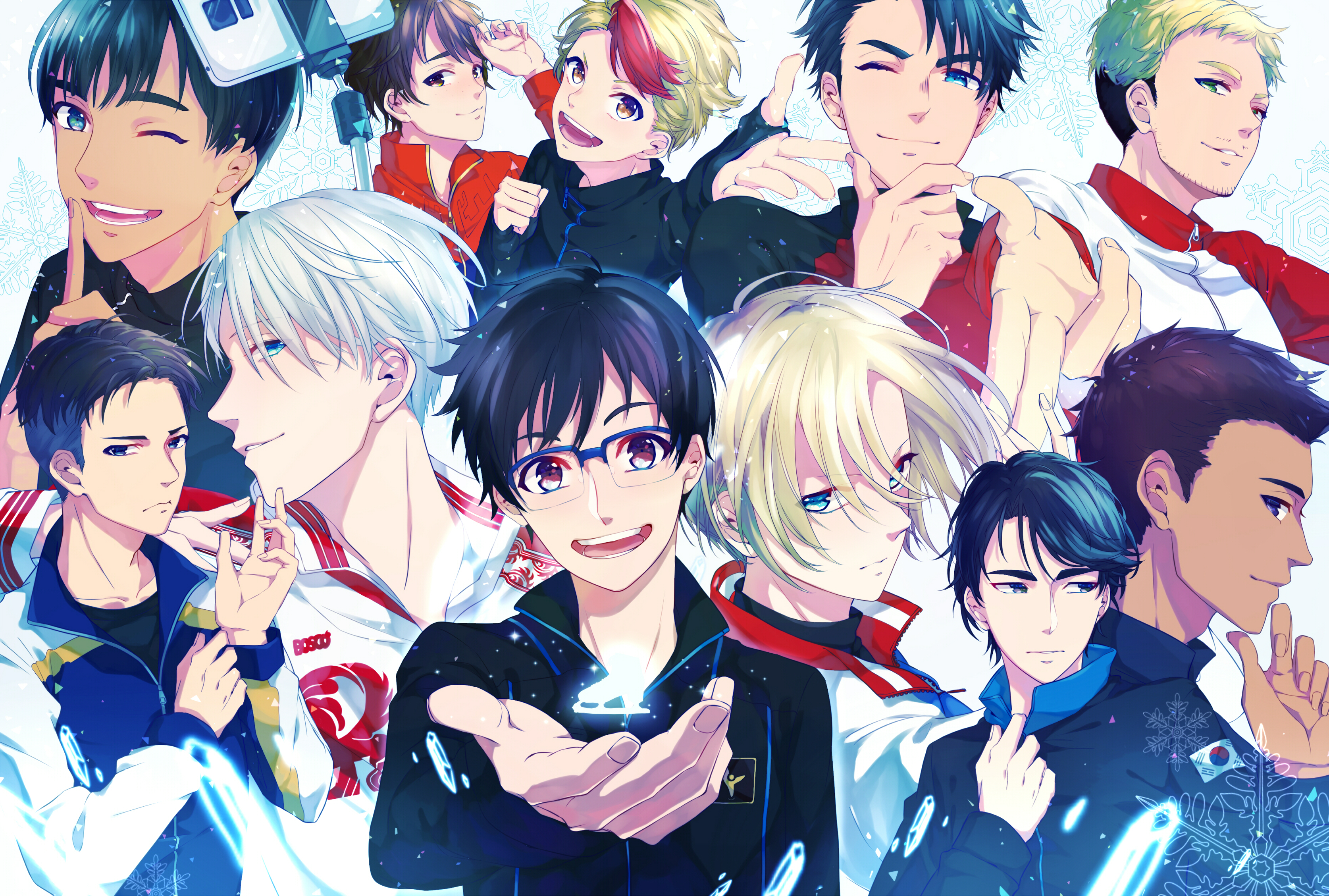 Nice Images Collection: Yuri!!! On Ice Desktop Wallpapers