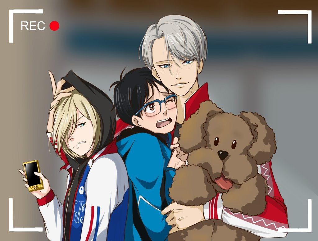 HD Quality Wallpaper | Collection: Anime, 1024x776 Yuri!!! On Ice