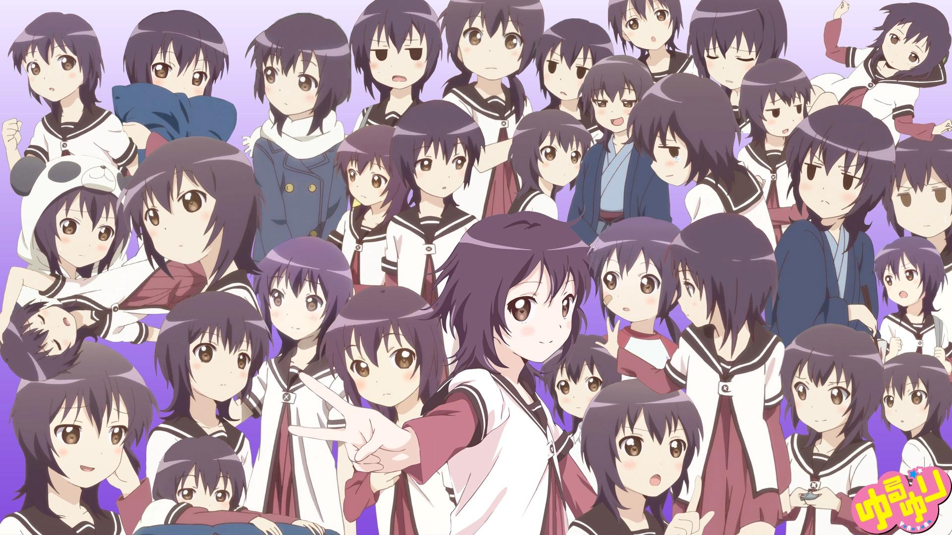 HQ Yuru Yuri Wallpapers | File 680.03Kb