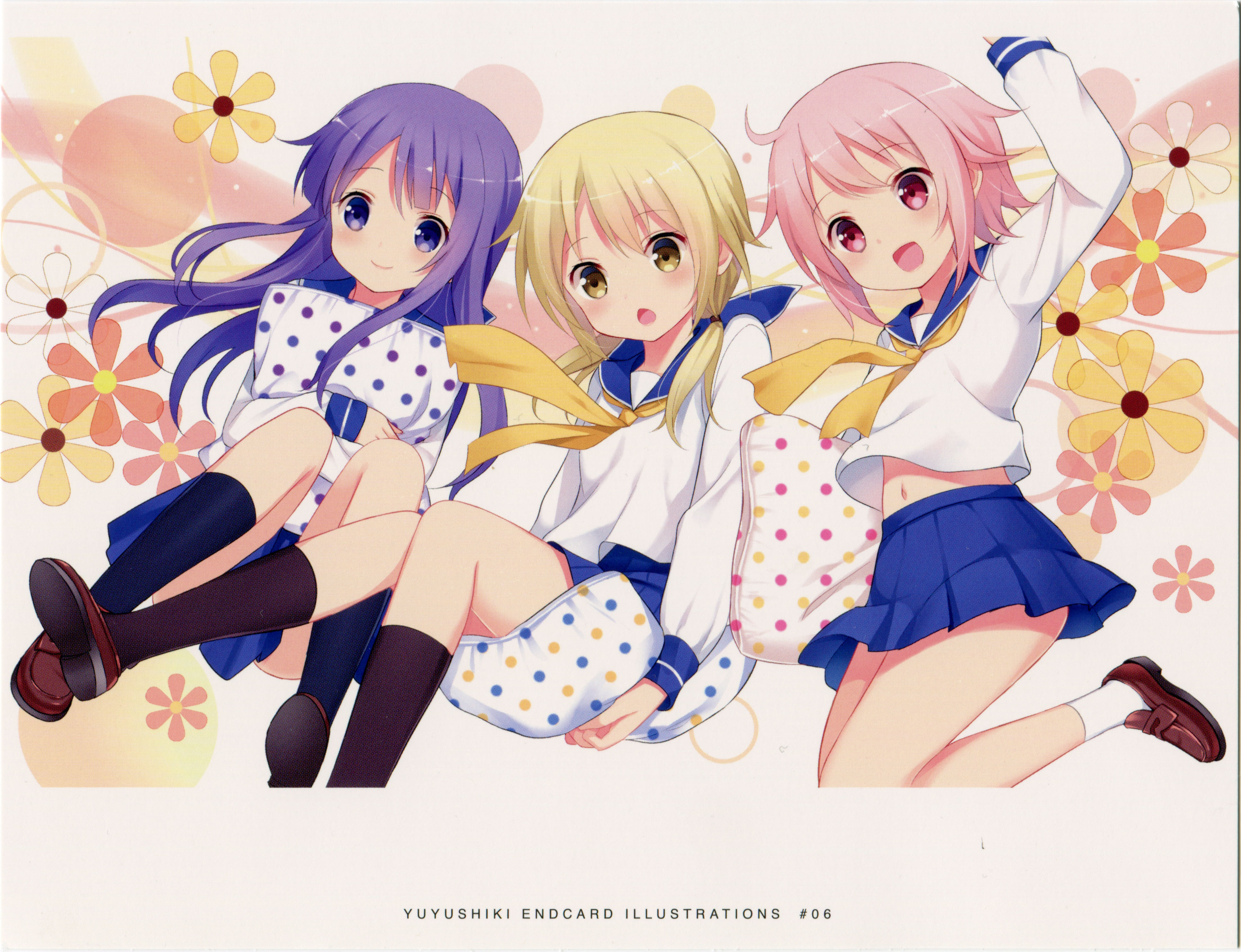 Yuyushiki High Quality Background on Wallpapers Vista
