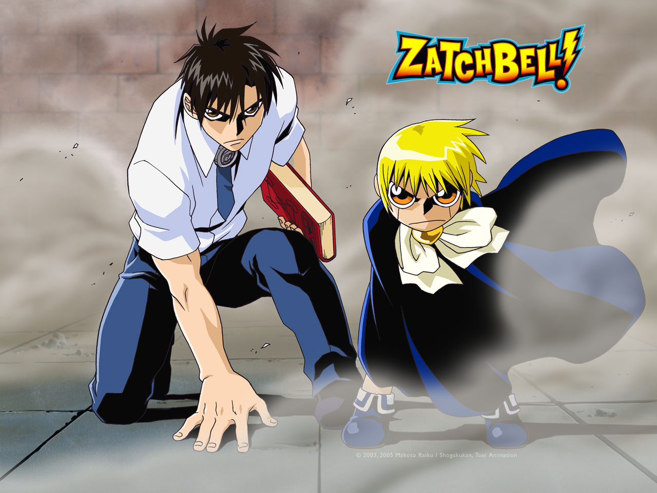 Nice Images Collection: Zatch Bell Desktop Wallpapers