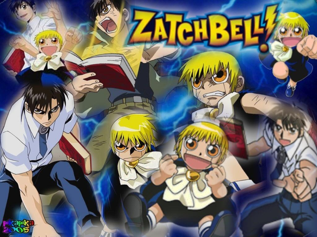 HD Quality Wallpaper   Collection: Anime, 1024x768 Zatch Bell