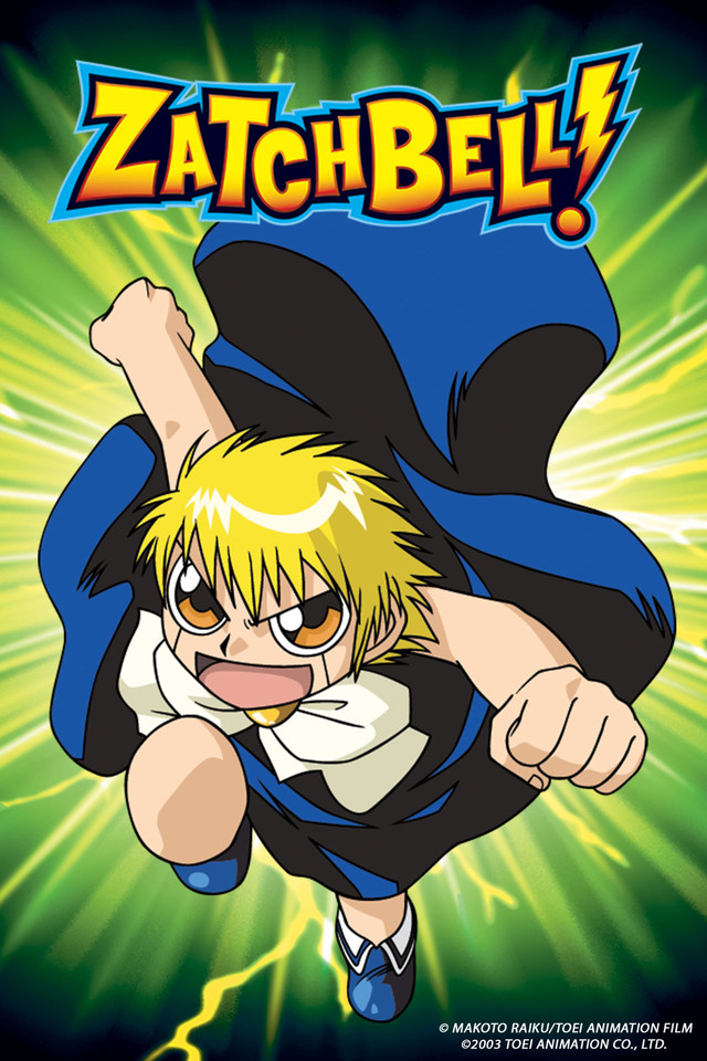 HD Quality Wallpaper   Collection: Anime, 640x960 Zatch Bell