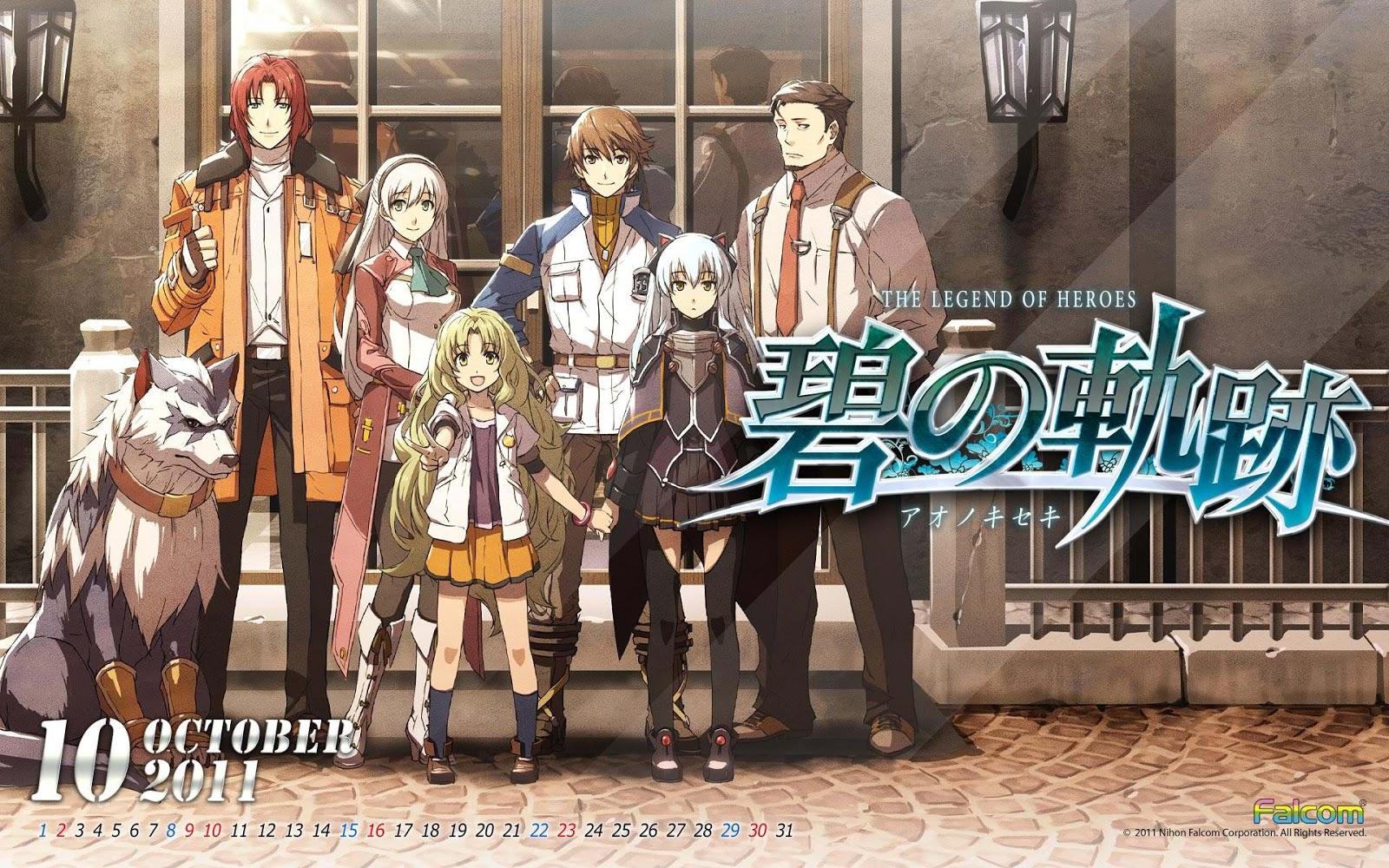 HD Quality Wallpaper | Collection: Anime, 1600x1000 Zero No Kiseki