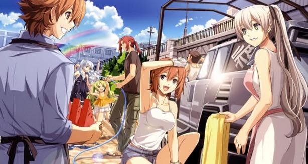 Nice Images Collection: Zero No Kiseki Desktop Wallpapers