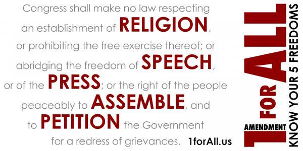 preview 1st Amendment
