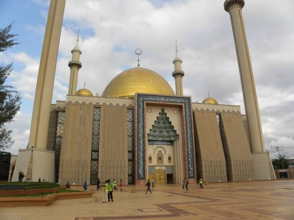 preview Abuja National Mosque