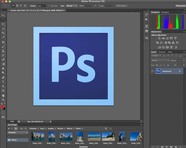 preview Adobe Photoshop