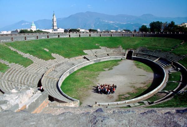 preview Amphitheatre Of Pompeii