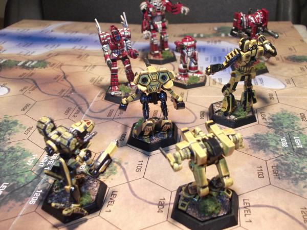 preview BattleTech: The Board Game