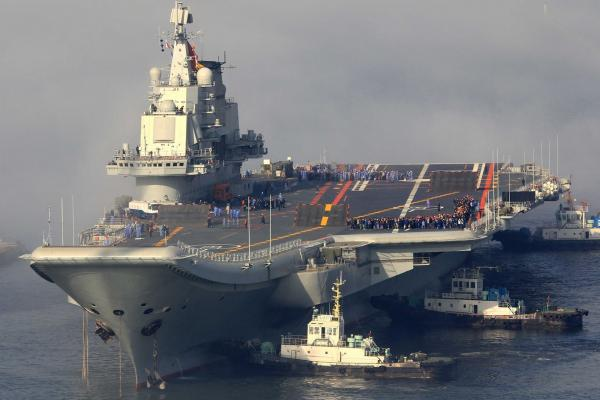 preview Chinese Aircraft Carrier Liaoning