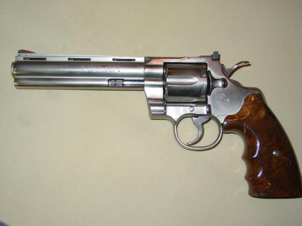 preview Colt Python Silhouette Revolver