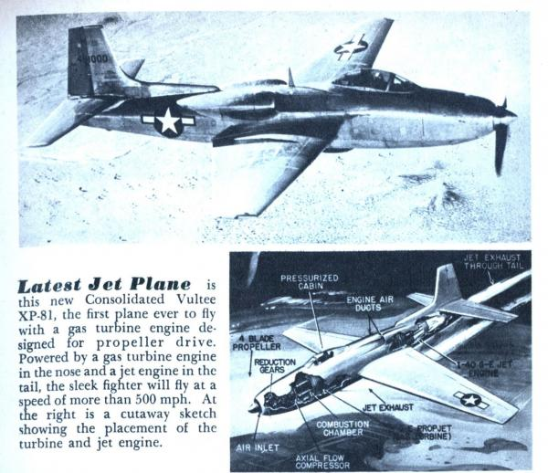 preview Consolidated Vultee XP-81