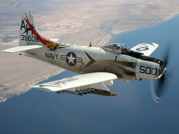 preview Douglas A-1 Skyraider
