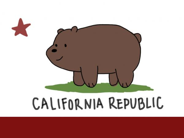 preview Flag Of California