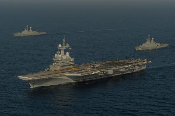 preview French Aircraft Carrier Charles De Gaulle (R91)