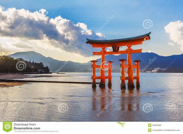 preview Itsukushima Gate