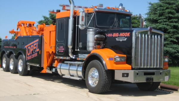 preview Kenworth Tow Truck