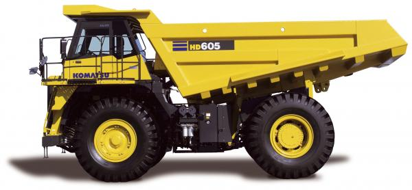 preview Komatsu HD465 Dump Truck