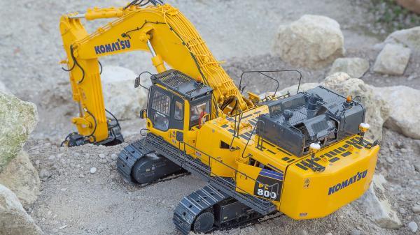 preview Komatsu PC800 Excavator