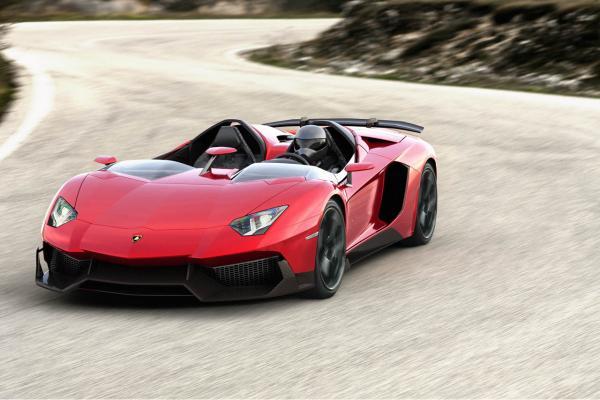 preview Lamborghini Aventador J