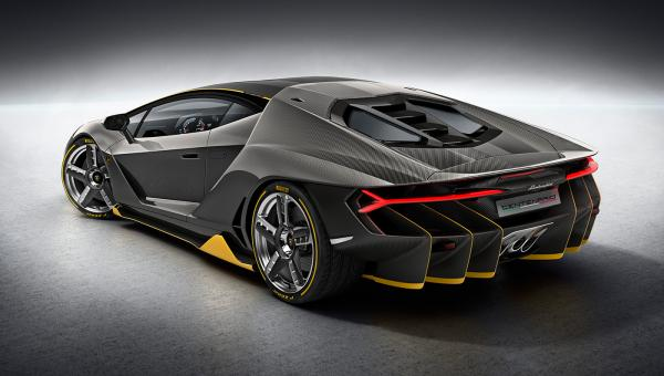 preview Lamborghini Centenario
