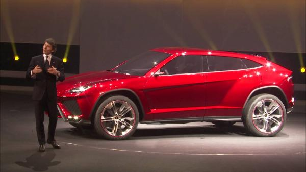 preview Lamborghini Urus