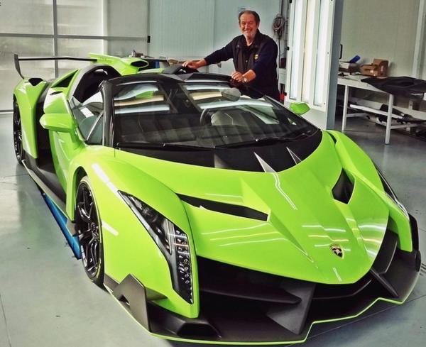 preview Lamborghini Veneno
