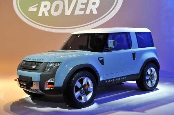 preview Land Rover Dc100