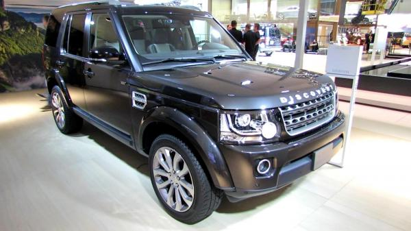 preview Land Rover Discovery XXV