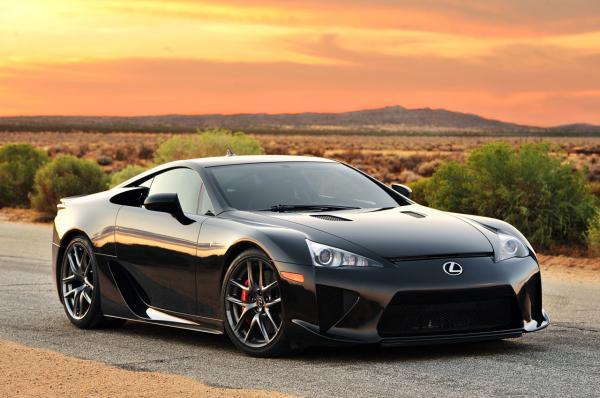 preview Lexus LFA