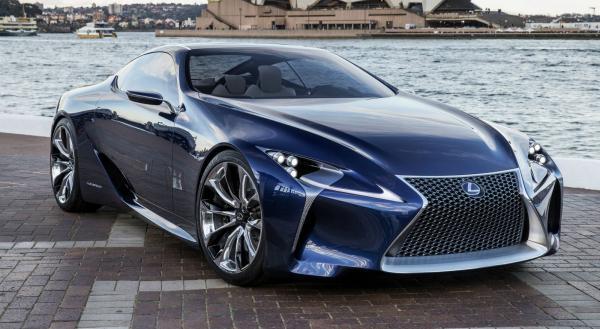 preview Lexus LF-LC