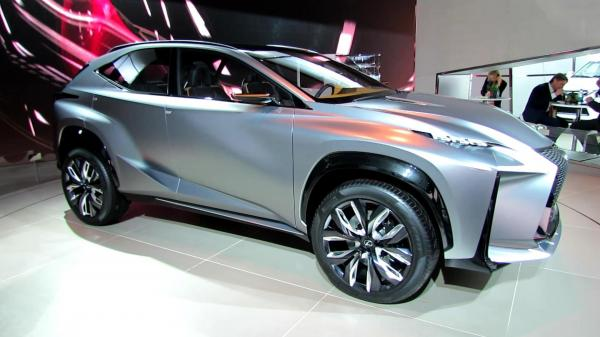preview Lexus LF-NX