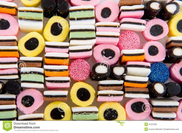 preview Licorice Alsorts