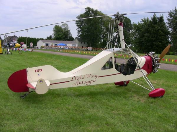 preview Little Wing Autogyro