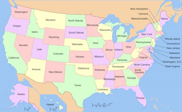 preview Map Of The Usa