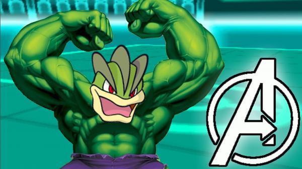 preview Pokemon Avengers