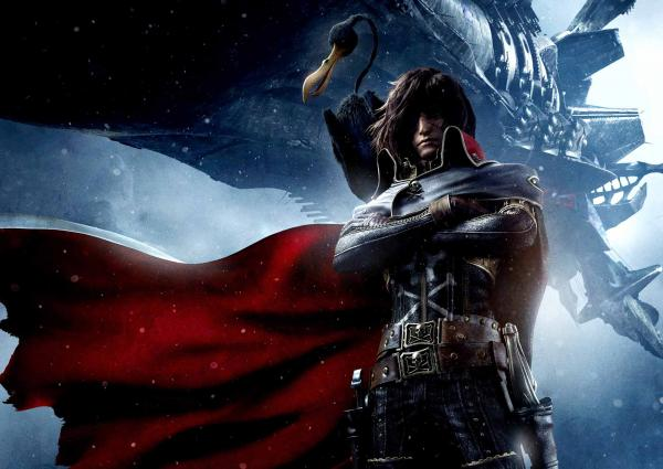 preview Space Pirate Captain Harlock