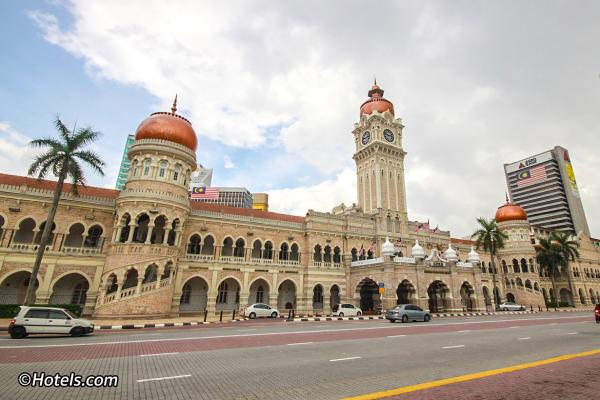 preview Sultan Abdul Samad Building