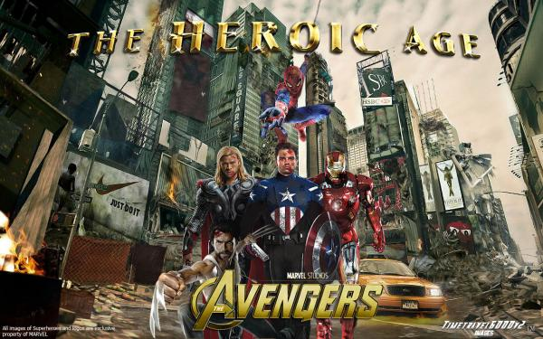 preview The Avengers: The Heroic Age